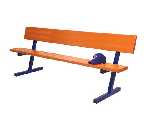 Powder Coated Team Bench