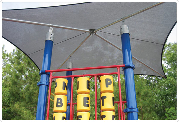 Playground Mounted Shade Structure