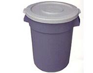 32 Gallon Round Trash Receptacle