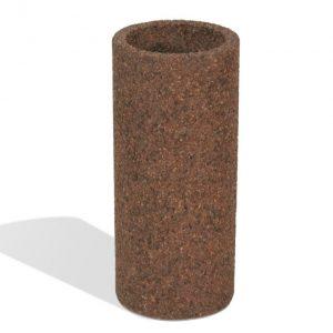 Round Concrete Ash Urn