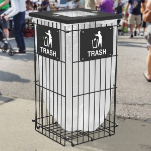 Outdoor Recycling Receptacles