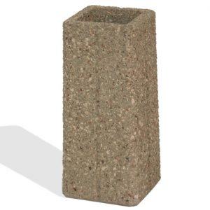 Square Concrete Ash Urn