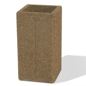 Heavy Weight Concrete Square Ash Urn