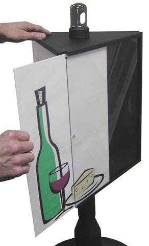 Smokers' Oasis Cigarette Receptacle